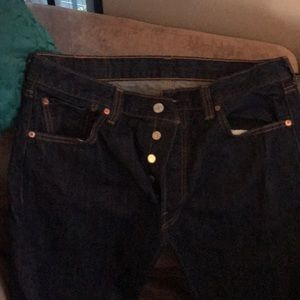 NWOT Levi's 501 regular straight leg jeans